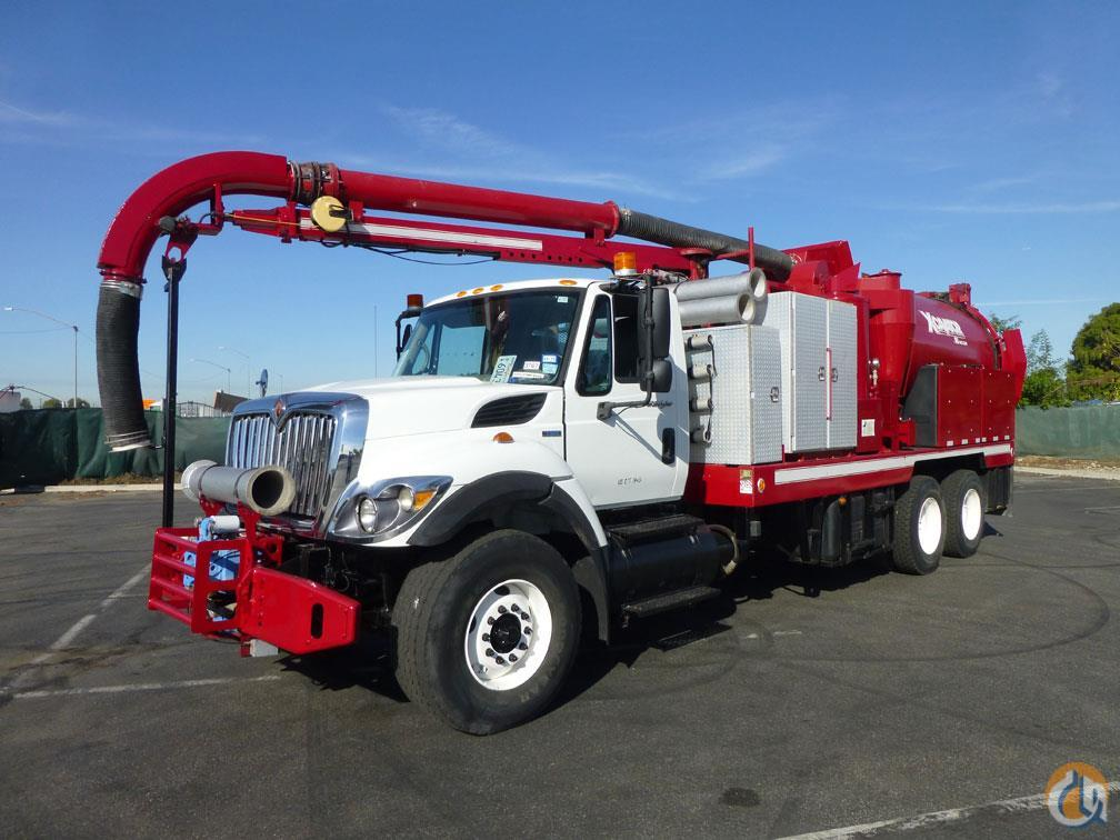 2009 International 7400 Vac-Con X-Cavator VX312LHE Hydro Excavator Truck Vacuum Truck  Trailers INTERNATIONAL 7400 Big Truck amp Equipment Sales LLC 19003 on CraneNetwork.com